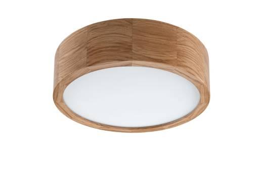 LED Deckenleuchte Wohnzimmer Holzlampe Eiche