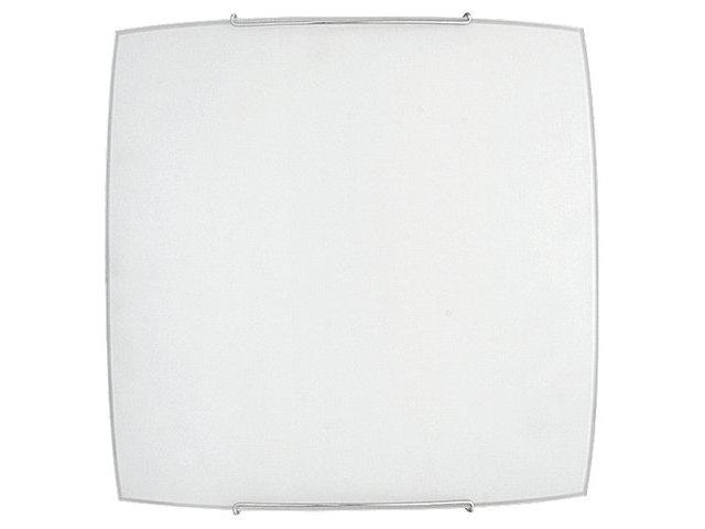 Zeitlose quadratische Deckenleuchte in Weiß