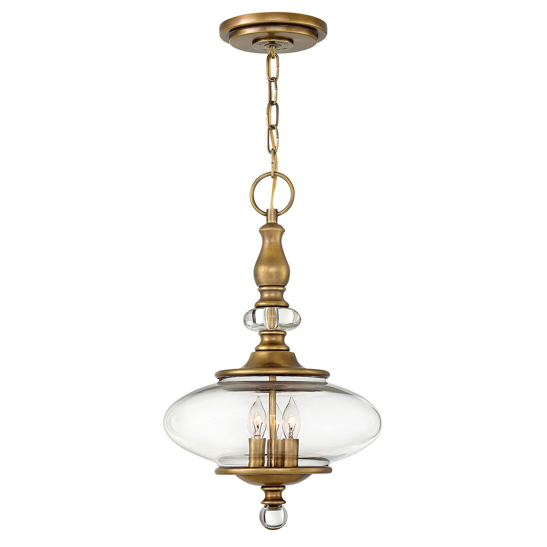 Pendelleuchte LYN Messing Ø30cm kürzbar Lampe
