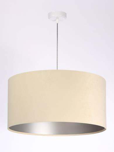 Hängeleuchte Esstisch Esszimmerlampe Creme Silber