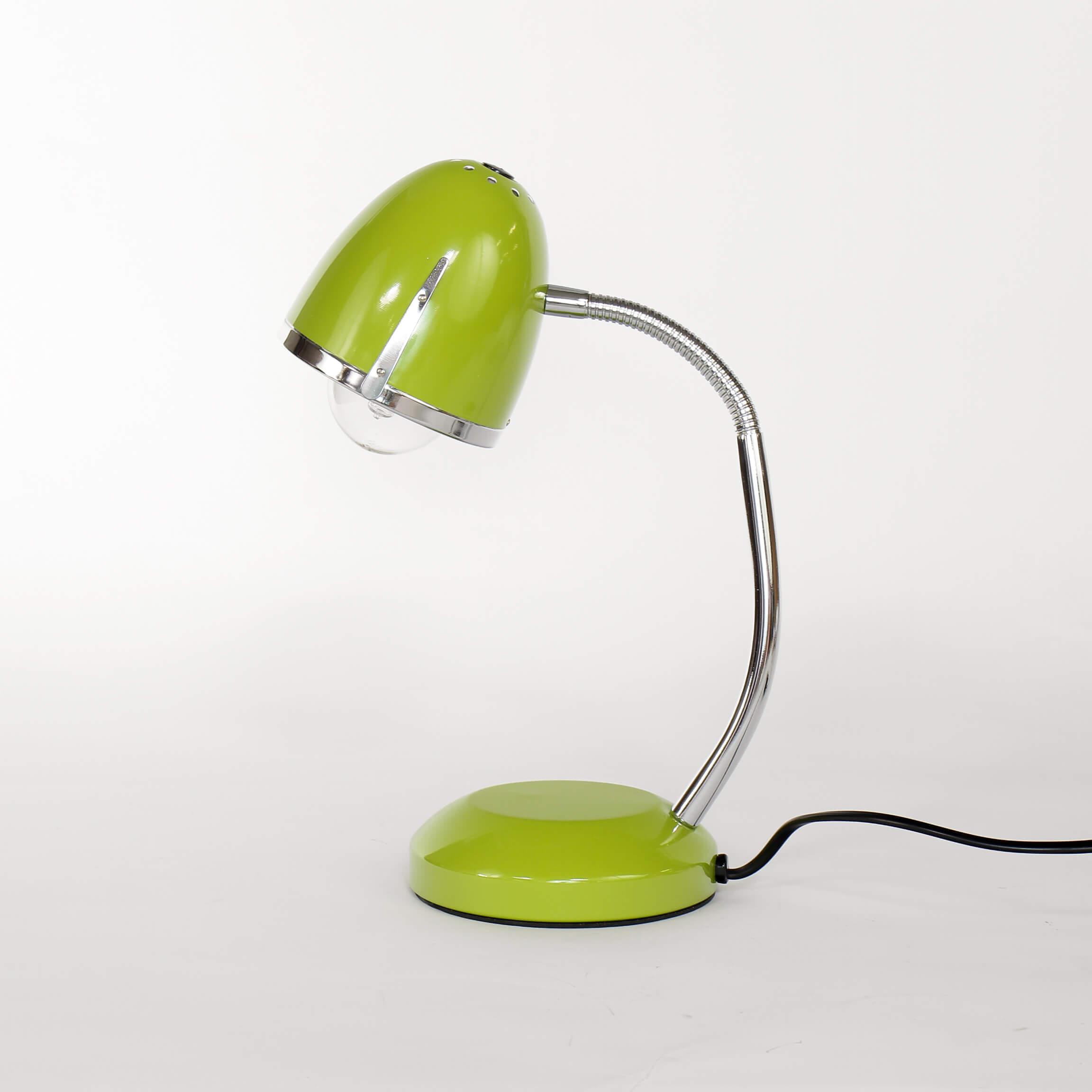 Retro Schreibtischleuchte E27 Grün