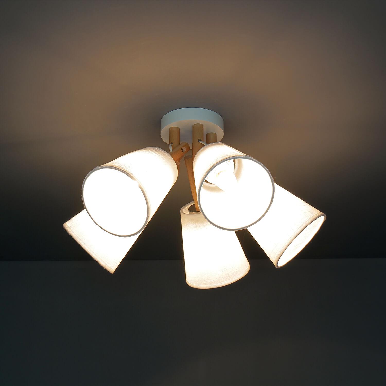 Deckenlampe VAIO Weiß 5-flmg