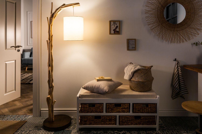 Design Stehlampe Treibholz 163cm Wohnzimmer Unikat