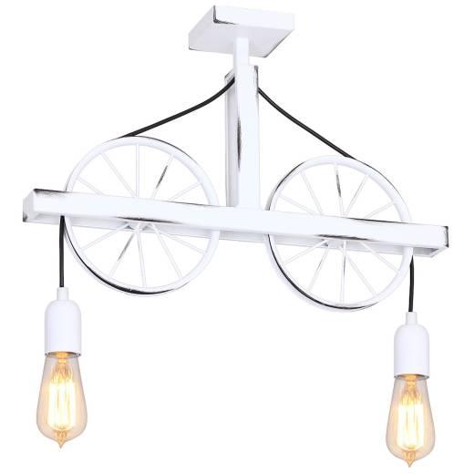 Deckenleuchte Weiß lang Wohnzimmer Lampe Esszimmer