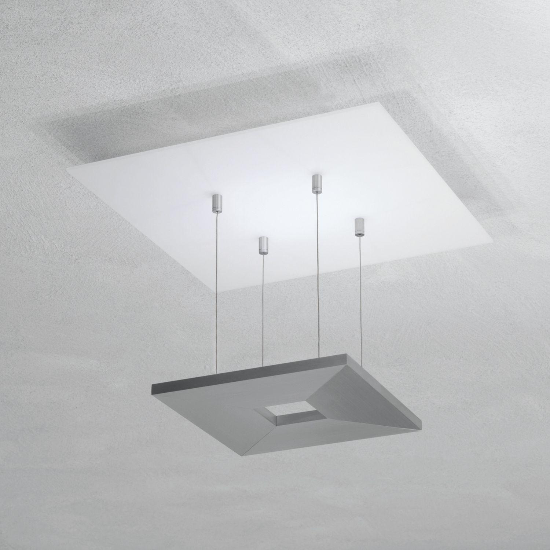 Escale - 80580400 Moderne LED Deckenleuchte Weiß Grau Design dimmbar indirektes Raumlicht ZEN Mini