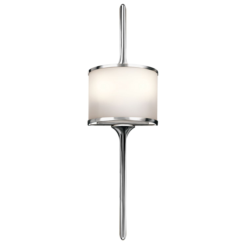 Wandlampe Bad in Chrom IP44 Leuchte ARYA B:17cm