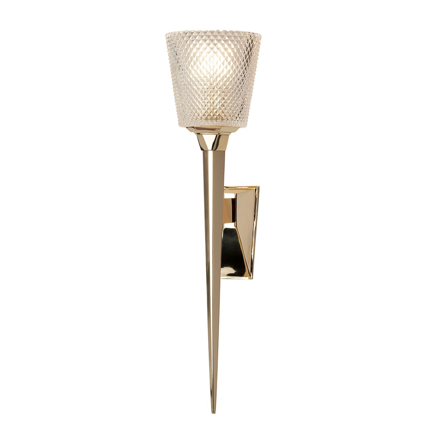 LED Badezimmerleuchte Messing in Gold IP44 rostfrei PIA