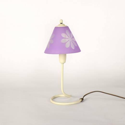 Niedliche Tischlampe Lila Mädchen Kinder Lampe