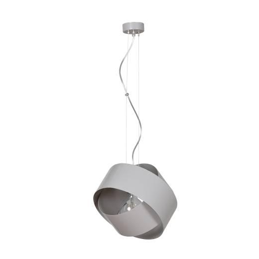 Hängeleuchte Metall Grau Modern Design Ø32cm BASE