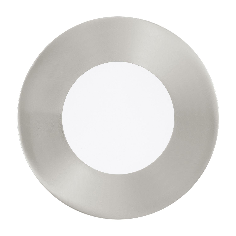 Einbau LED Spotstrahler Fueva 1 Nickel-Matt Ø8,5cm