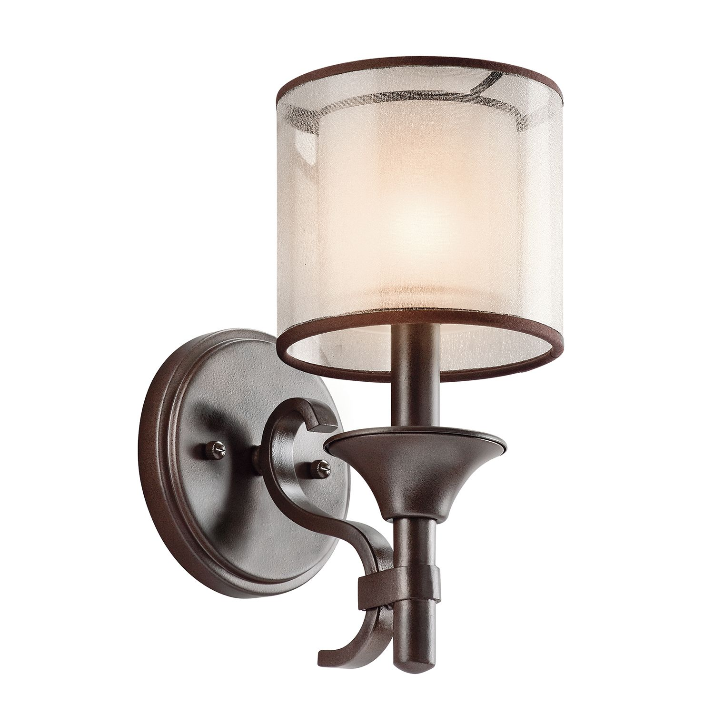 Wandlampe CANELADO Bronze Design Lampe Wohnzimmer