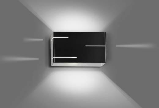 Indirekte Wandlampe Schwarz Metall eckig SQUARE