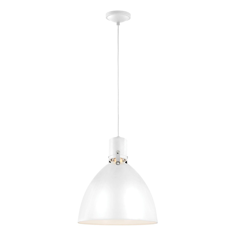 LED Hängelampe Weiß Metall Loft Esszimmer SOBRIO