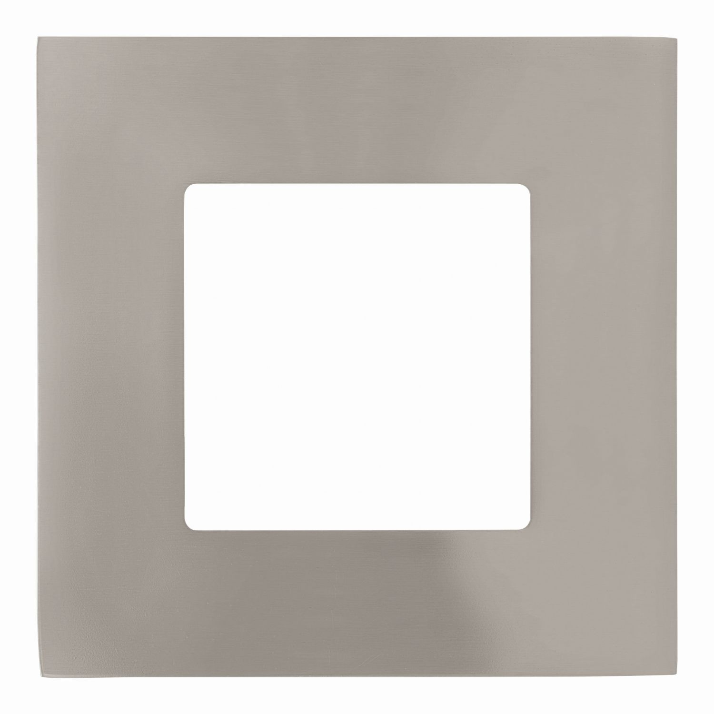Einbau LED Spotstrahler Fueva 1 Nickel-Matt 8,5cm