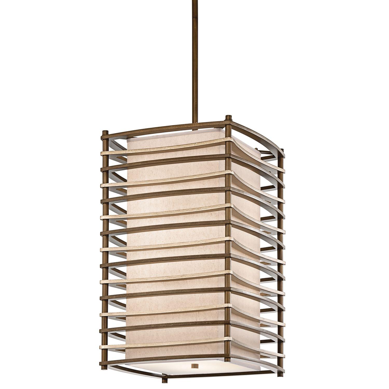 Deckenleuchte KIKI Bronze Asiatisch Design Lampe