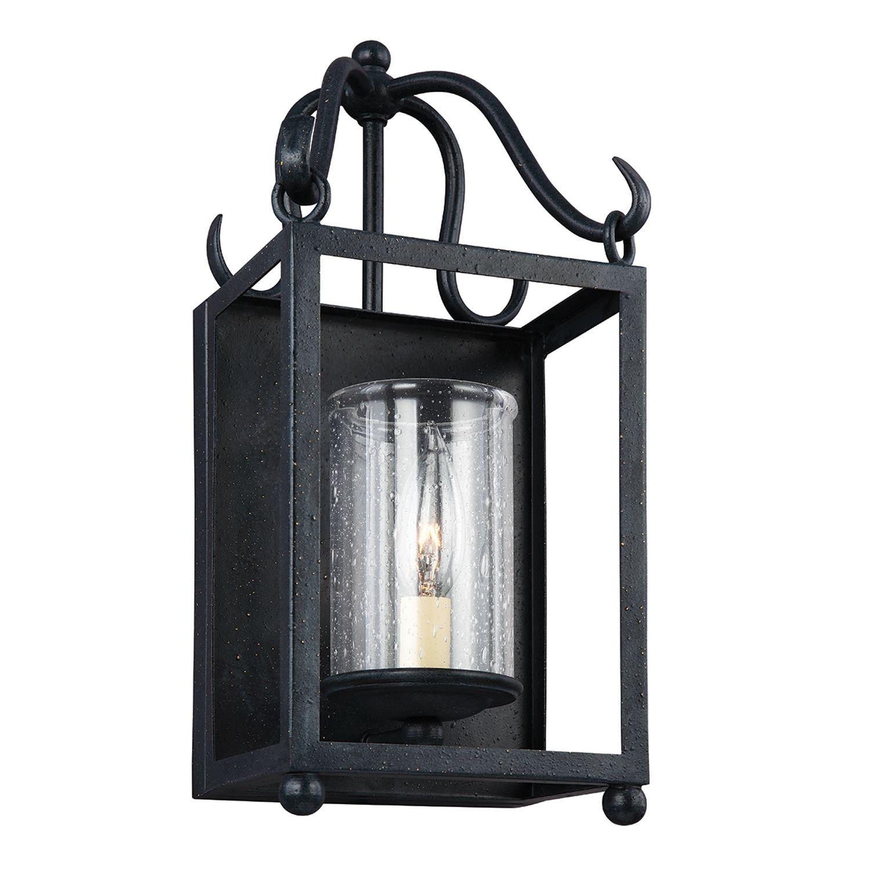 Wandlampe FAROL Schwarz Leuchte Wohnzimmer Flur