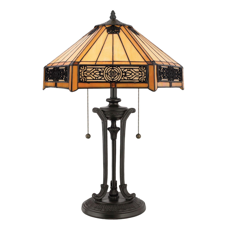 Tischlampe FARFALLA 4 H:59cm Tiffany Wohnzimmer