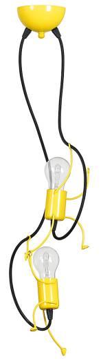 Kinderlampe Decke Hängend in Gelb Mädchen Jungs
