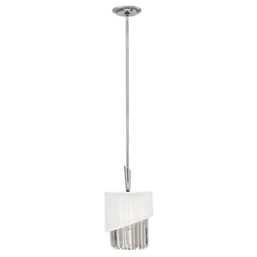 Deckenleuchte DISFARE Nickel Ø26cm kürzbar Lampe
