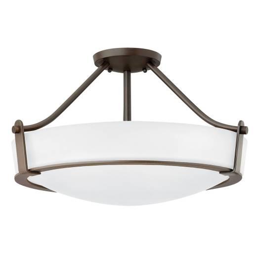 Deckenleuchte SOMBRA Braun Ø33cm Lampe Esszimmer