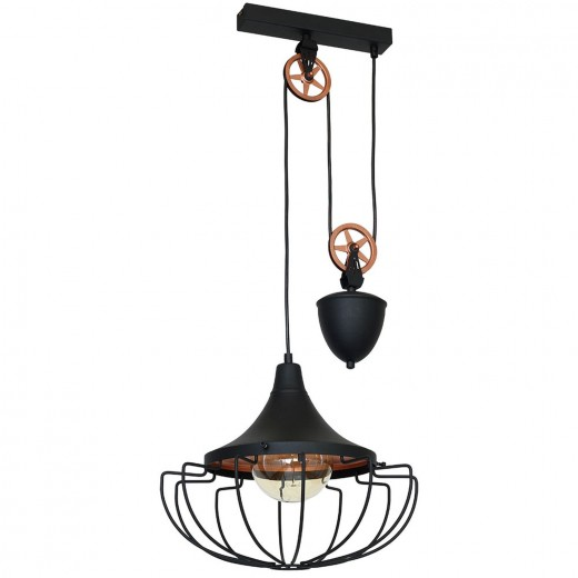 Flexible Hängelampe Industrie Wohnzimmer Lampe