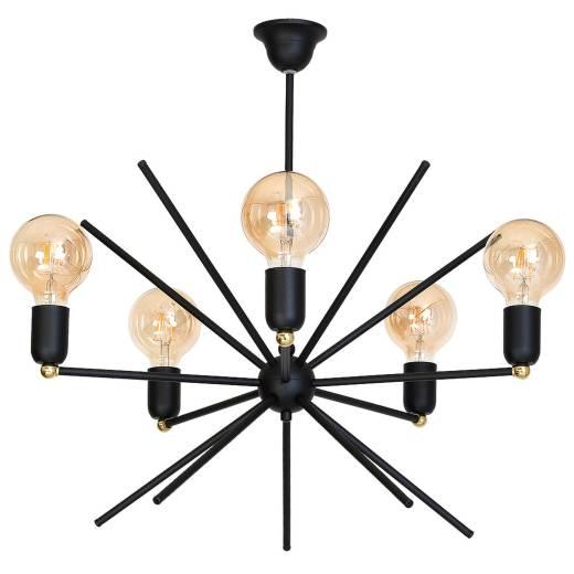 Außergewöhnliche Deckenlampe Schwarz Modern Design