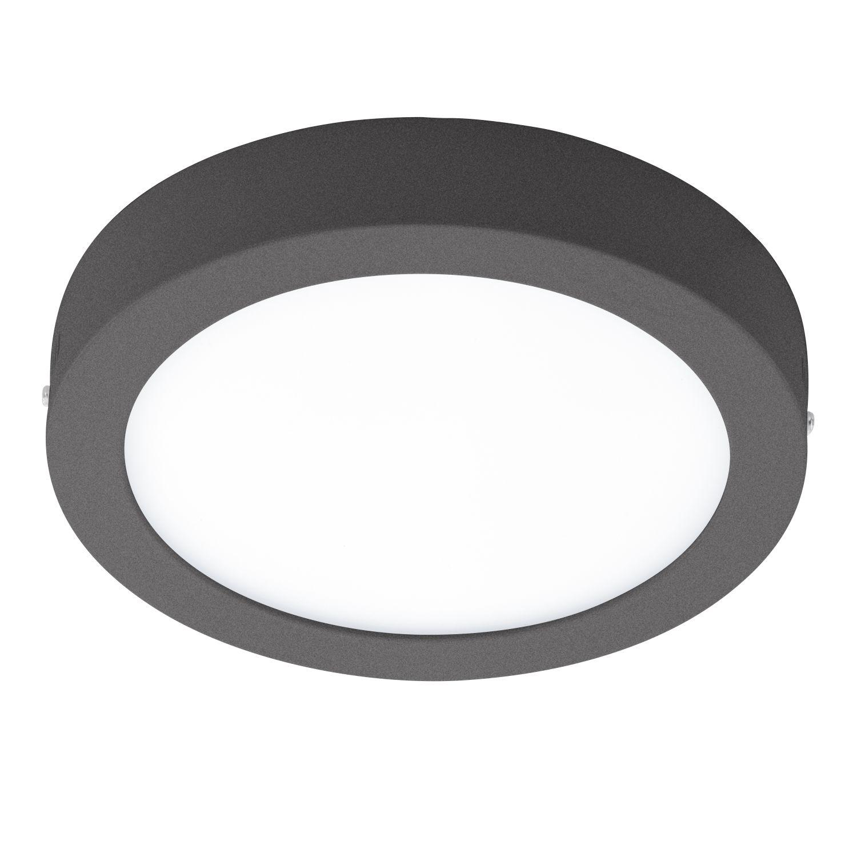 Flach Runde LED Deckenaußenleuchte Argolis Weiß