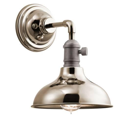 Industrielampe Metall Wand extravagant SINO