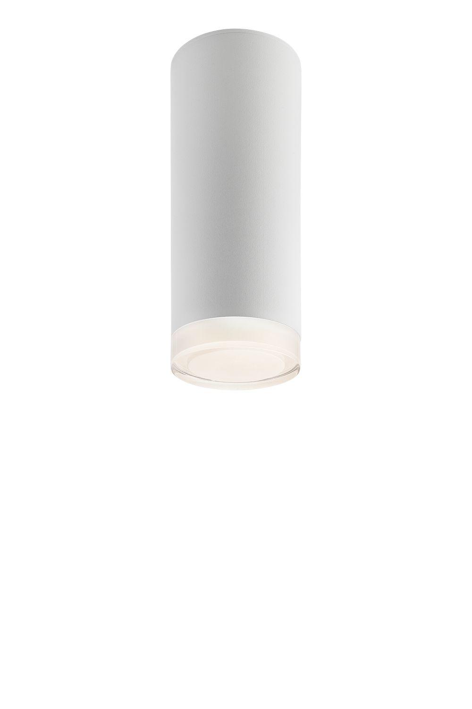 Spot Leuchte Weiß Aluminium rund vielseitig BALIA