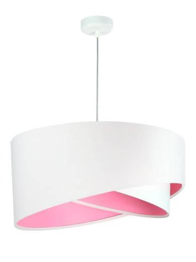 Pendelleuchte Esstisch Wohnzimmerlampe Weiß Rosa