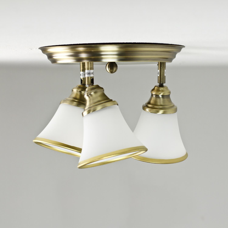 Jugendstil Deckenlampe 3xE14 Ø40cm drehbar GRANDO
