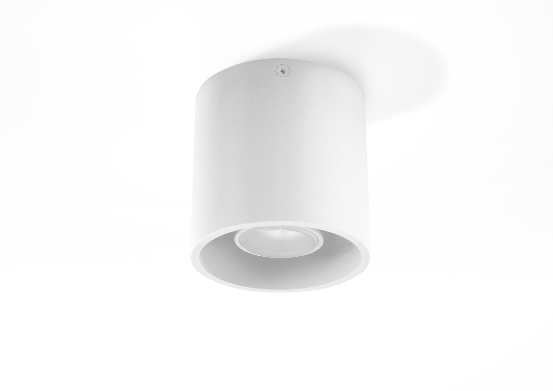 Runde Innenlampe Weiß