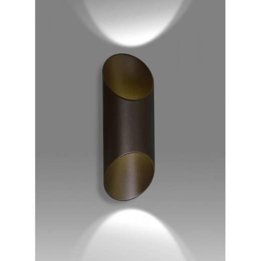 Braune Wandlampe Metall Modern Flur Up Down PADDY