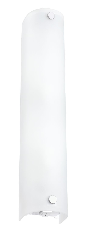 Zeitlose Wandleuchte Mono Weiß 2-Flmg