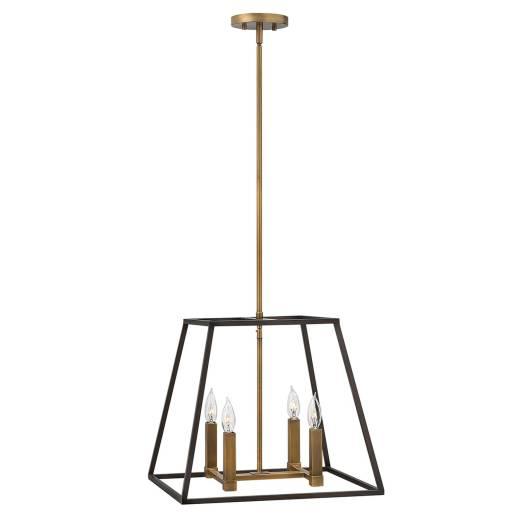 Vintage Deckenleuchte TORRE Bronze kürzbar Lampe
