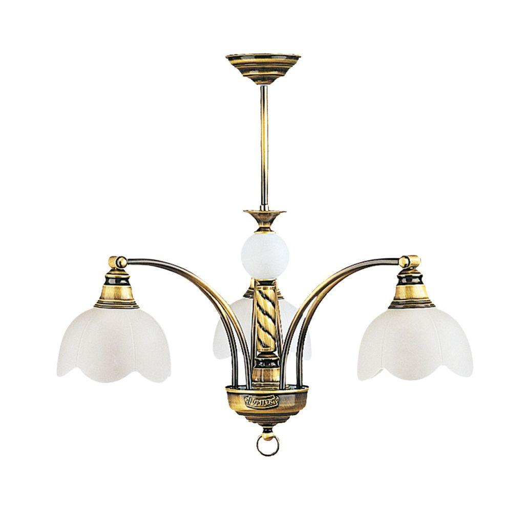 Deckenleuchte in Messing TOBSYN Esszimmer Lampe