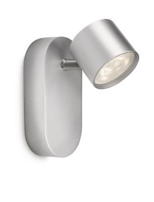 Philips LED Wandleuchte Cyl Silber Schwenkbar