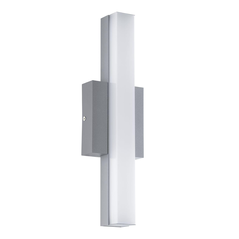 Längliche Wandaußenleuchte LED  Acate Weiß