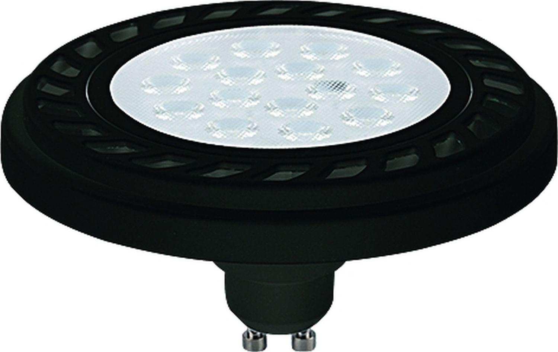 LED Leuchtmittel ES111 Schwarz