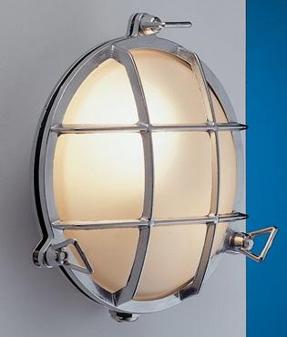 LED Wandleuchte Außen Chrom Maritim IP54 Haustür