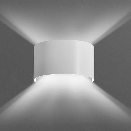 Wandleuchte XANDER indirektes Licht Up Down Weiß