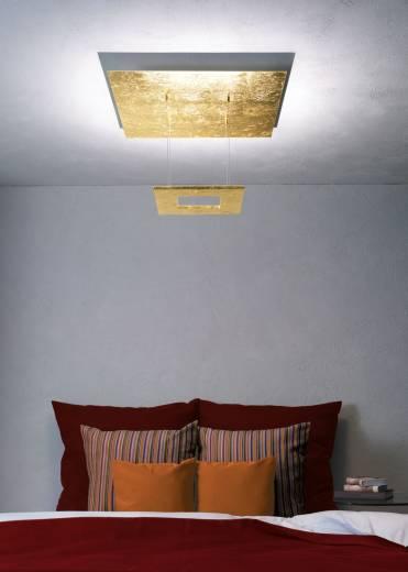 Escale - 34289409 Edle LED Deckenlampe Blattgold Licht App Design indirektes Raumlicht ZEN Mini