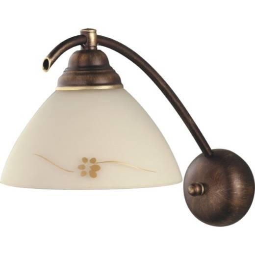 Gemütliche Wandlampe Messing Optik Lampe Landhaus