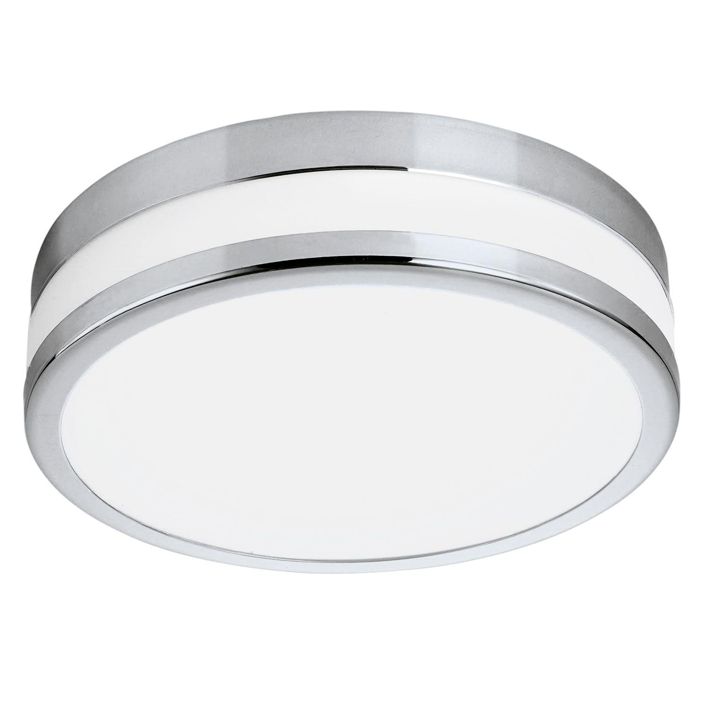 Runde Deckenleuchte LED Palermo Weiß Lackiert Ø30cm