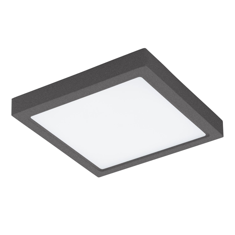 Eckige Deckenleuchte LED Außen Argolis Weiß