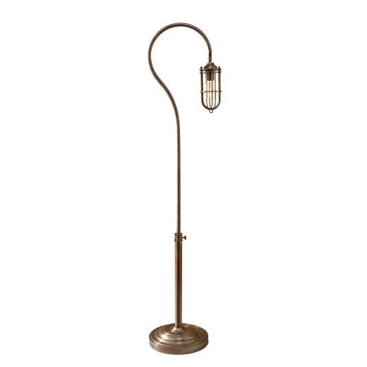 Stehleuchte LANA Metall Messing 162cm Bodenlampe