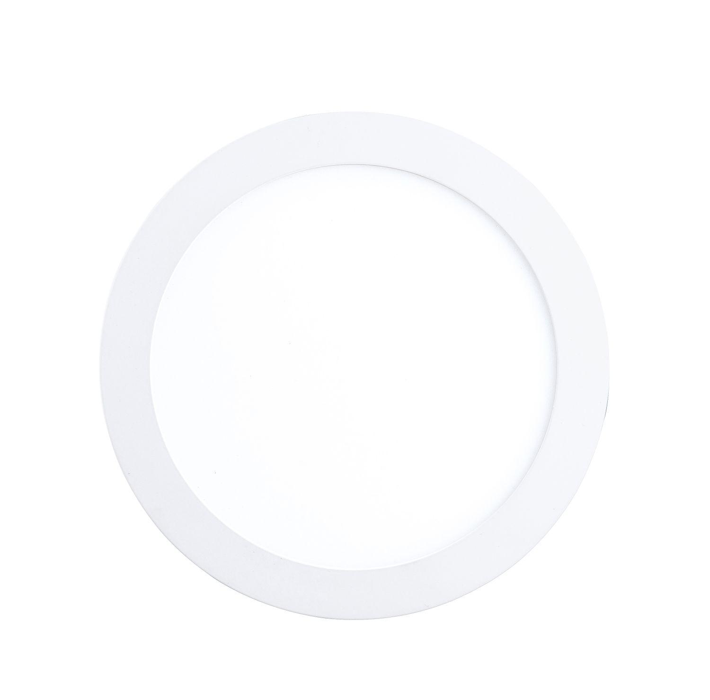Einbau LED Spotstrahler Fueva 1 Weiß Ø17cm