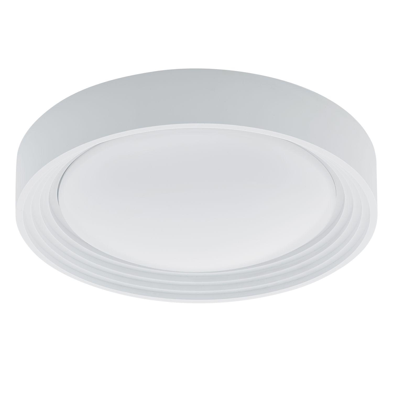 Flach Runde LED Deckenleuchte Außen Ontaneda Weiß