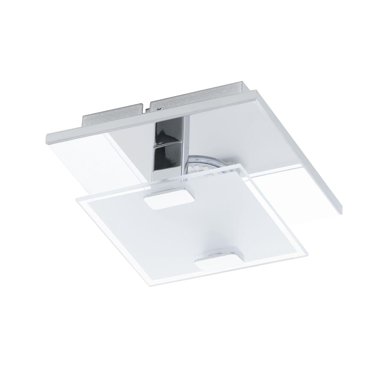 Zeitlose LED Deckenleuchte Vicaro Weiß