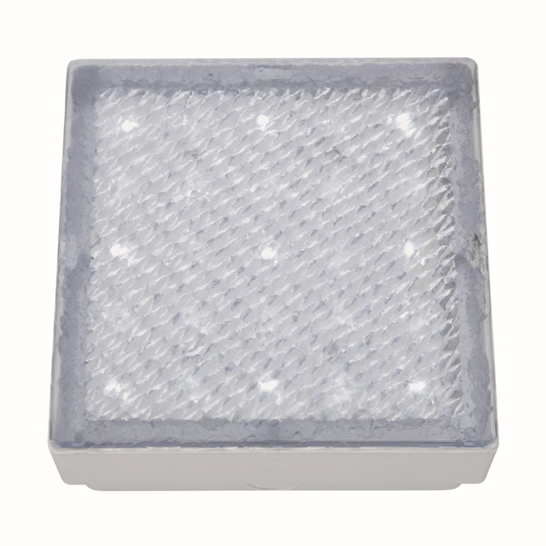 Moderne quadratische LED Außen Bodenleuchte Einbau